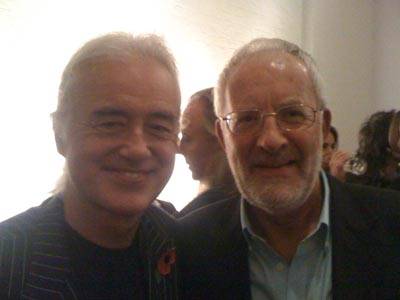 With Jimmy Page 2010